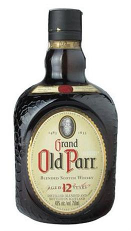 Grand Old Parr Scotch 12 Year